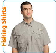 Embroidered Fishing Shirts, Columbia Sportswear Fishing Shirts, Short Sleeve Fishing Shirts, Long Sleeve Fishing Shirts
