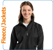 Custom Embroidered Jackets, Custom Screen Printed Pullover Hoodies, Full Zip Hoodies, Ladies Softshell Jackets, Customized Leather Jackets, Sweatshirts, Youth Hoodies, Nike Golf Pullovers, Windbreakers, Fleece
