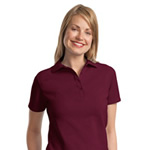 Hanes® - ComfortSoft® Ladies 7-Ounce Pique Knit 035X Polo Sport Shirt