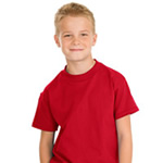 Hanes® - Youth Tagless® 5450 100% ComfortSoft® Cotton T-Shirt
