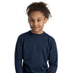 Hanes® - Youth Tagless® 5546 100% Cotton Long Sleeve T-Shirt