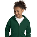 Hanes® - Comfortblend® EcoSmart® P480 Youth Full-Zip Hooded Sweatshirt
