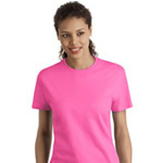 Hanes® - Ladies Nano-T® SL04 100% Cotton T-Shirt